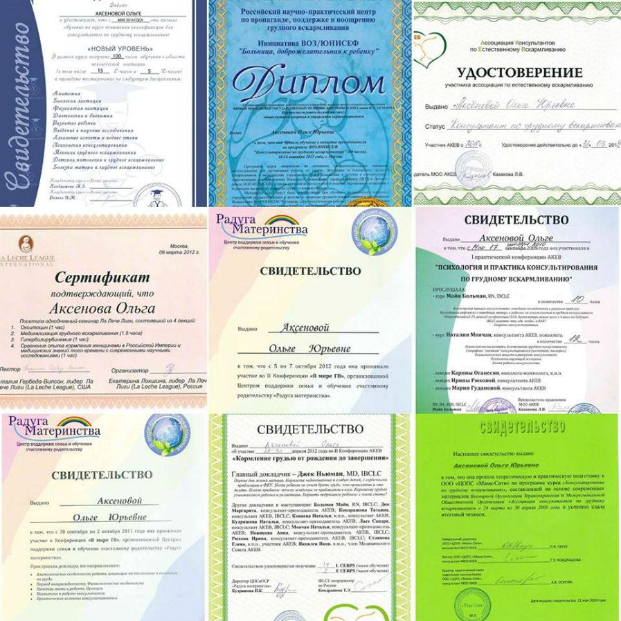 сертифицированный консультант по гв